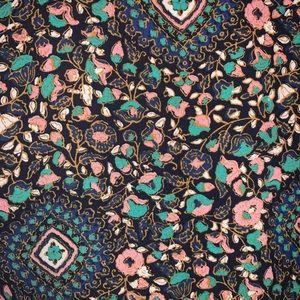 J. Crew Factory Tops - J. Crew Factory Boho Medium Floral Blouse